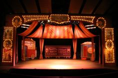 vintage stage | ... old fashioned stage trickery by designer tom ...
