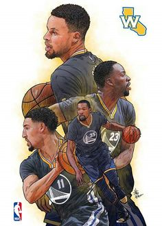 Basketball Art, Basketball Pictures, Love And Basketball, 2018 Nba Champions, Curry Nba, Nba Pictures, Nba Wallpapers, Sports Art, Nba Players