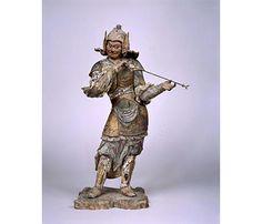 重文「木造一二神将立像 亥神」木造彩色截金 鎌倉時代(13世紀)