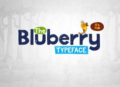 Bluberry Typeface by Squarepack on @creativemarket