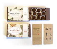 MAISON LEMERY - Chocolate Packaging on Packaging Design Served