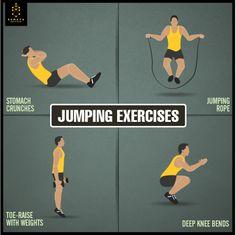 Jumping Exercises #Sumaya