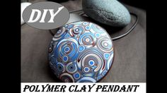 DIY|Pendant made of polymer clay|Кулон из полимерной глины своими руками