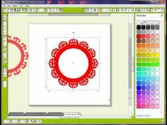Silhouette Studio Tutorial - Straight Borders to Circles
