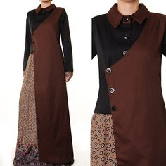 Islamic Abaya Tailored Formal Career Long Sleeves by MissMode21, $29.00