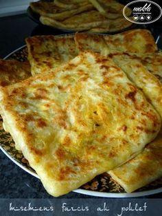 Ramadan recipes 817895982314244538 - Msemens farcis 4 Source by mariellemeyapin Crepes, Moroccan Bread, Plats Ramadan, Tunisian Food, Algerian Recipes, Good Food, Yummy Food, Ramadan Recipes, Burger Buns