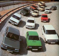 1975 Seat Car Range