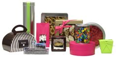 A full range of packaging, including wine bottle tins!