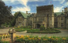 Hatley Castle - Colwood BC, built in 1906 by James Dunsmuir, the family occupied it until 1940