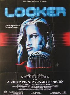 """""""Looker"""" (1981) Movie Poster"""