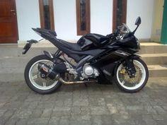 modifikasi motor Yamaha Vixion seperti Yamaha R15
