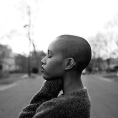 My Black Is Beautiful, Beautiful People, Afro, Character Inspiration, Writing Inspiration, Natural Hair Styles, Short Hair Styles, Black Power, Bald Hair