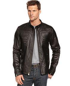 Puma Jacket, Ferrari Leather Jacket - Mens Coats & Jackets - Macy's #MacysFavoriteThings