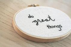 Needlepoint that inspires :)