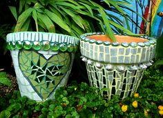 Hand crafted mosaic, made in Manchester by local artist Elaine Booth. Mosaic Rocks, Mosaic Stepping Stones, Pebble Mosaic, Mosaic Art, Mosaic Glass, Mosaic Planters, Mosaic Flower Pots, Mosaic Garden, River Rock Landscaping
