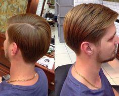 Best Hairstyles to Grow an Epic Man Bun or Top Knot - Man Bun Hairstyle Surfer Hairstyles, Side Fringe Hairstyles, Combover Hairstyles, Mens Medium Length Hairstyles, Side Part Hairstyles, Cool Hairstyles, Men's Hairstyle, Short Taper Haircut, Short Hair Undercut