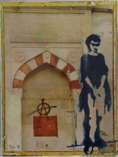 "Saatchi Art Artist Isil Gulecyuz; Painting, ""Fountain"" #art"