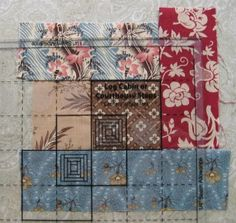 Log Cabin Blocks with the Creative Grids Advantage