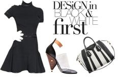 """Givenchy - Design in Black & White First"" by latoyacl on Polyvore"