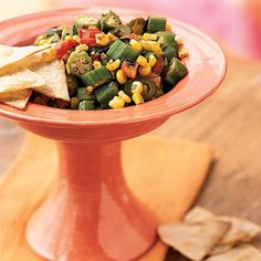okra recipes pickled okra salsa tried and true this is wonderfully ...