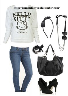 Hello Kitty outfits at target | Hello Kitty! - Hello Kitty Vintage Top Outfit Submitted by...