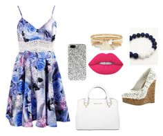 """""""Untitled #296"""" by volleyballgirl0513 on Polyvore featuring Lime Crime, Michael Kors, River Island and Yves Saint Laurent"""