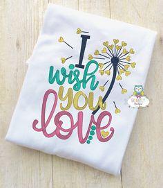 I wish you Love Shirt or Bodysuit Baby Shower Gift New Baby