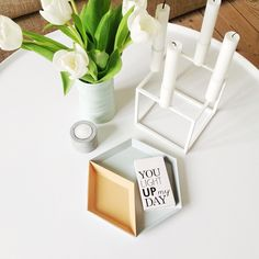 Via Rikke Graf Juell | By Lassen Candle Holder | Hay Kaleido Trays