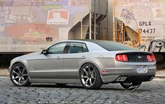 2012 Mustang GT Sport Sedan. Yes, a 4-door 'Stang. Why not?