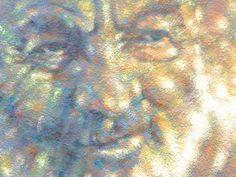 """PARAJANOV. SUN"" (Fragment). 2016 oil on canvas, imprimatura. 130x100cm http://port2013-en.ivankrutoyarov.com/"