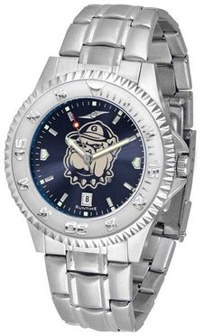 Mens Georgetown Hoyas - Competitor Steel AnoChrome Watch
