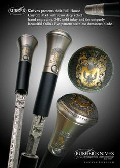 to the Official Web Site of Burger Sword Canes-Walking Sticks - How To Order A Custom Cane
