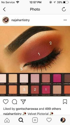 When it comes to eye make-up you need to think and then apply because eyes talk louder than words. The type of make-up that you apply on your eyes can talk loud about the type of person you really are. Eye Makeup Tips, Makeup Goals, Skin Makeup, Makeup Inspo, Makeup Inspiration, Beauty Makeup, Makeup Products, Makeup Ideas, Makeup Set