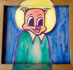 Paint on Wood - Eric Legge