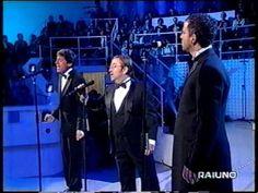 Lucio Dalla, Gianni Morandi, Eros Ramazzotti: I tre tremori. Oh sole mio.