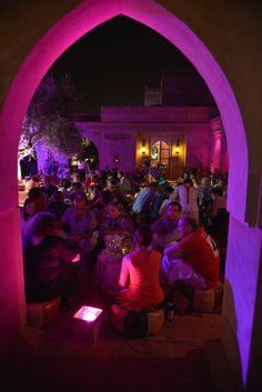 dîner d'accueil au mariage à marrakech