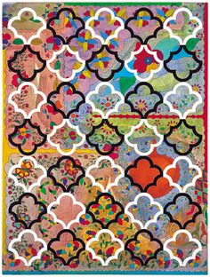 Inspiration - Cave to Canvas, Philip Taaffe,Composition with Ornamental...