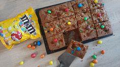 Brownie au caramel et m&m's - Gâteau à croquer