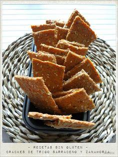 Embellecethe: Crackers de Trigo Sarraceno y Zanahoria