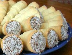 Cachitos Con manjar - Reposteria Chilena
