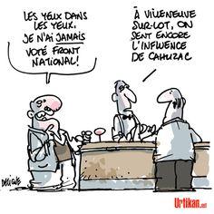 """Législatives à Villeneuve-sur-Lot. Cahuzac : """"Ils n'ont rien compris"""" - Dessin du jour - Urtikan.net"""