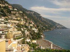 View from Casa Cosenza Balcony (Positano, Italy)