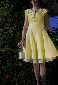 Grosgrain: Dress Design for Shabby Apple Dresses 'Dare to Design' - Limoncello Frock GIVEAWAY!!!!