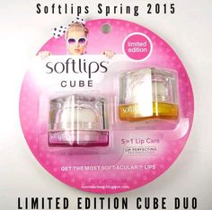 Here's my review of the new Softlips Cube Spring 2015 Limited Edition Duo!