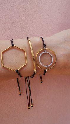 Karma bracelet. Circle bracelet. Infinity by AllAboutEveCreations