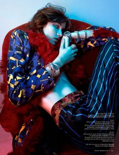 Vogue Netherlands September 2014 | Grace Hartzel by Boe Marion