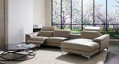 Ferrara modular recliner lounge with chaise