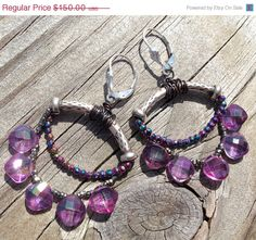 VALENTINES SALE 20%OFF Lavender Topaz Hill Tribe by rocksnbeads