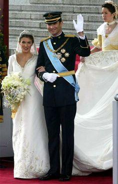 Spanish Royal Wedding Ten Years On: The Bride | Royal weddings ...