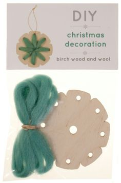 STAR Turquoise DIY christmas decoration by Scaapi